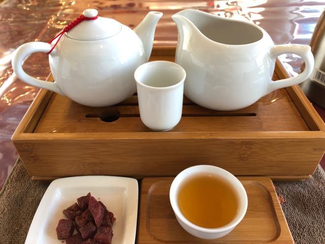 中国茶五福